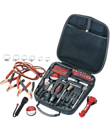 Apollo Precision Tools DT0101 Travel & Automotive Tool Kit, 64-Piece (Car Roadside Tool Kit compare prices)