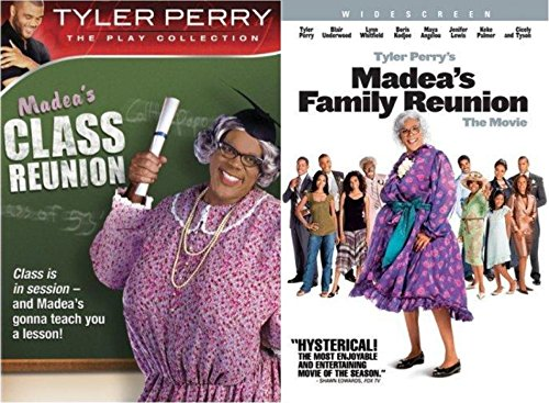 Tyler Perry's Collection: Madea's Class Reunion - The Play & Madea's Family Reunion - 2-Pack DVD