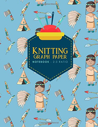 Download Knitting Graph Paper Notebook - 2:3 Ratio: Knitters Graph Paper, Knitters Notebook, Blank Knitting Pattern Books, Cute Cowboys Cover (Knitting Graph Paper Notebooks) (Volume 7) pdf epub