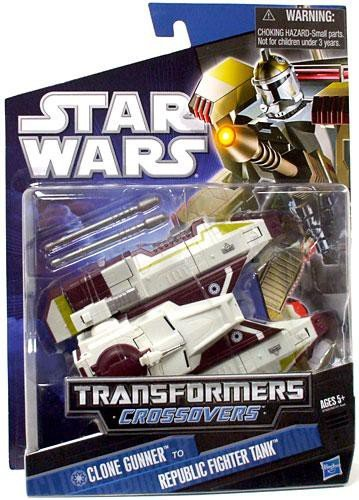 - Star Wars Transformers Crossovers Clone Gunner to Republic Fighter Tank