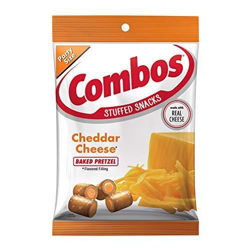 COMBOS Cheddar Cheese Pretzel Baked Snacks 15-Ounce Bag