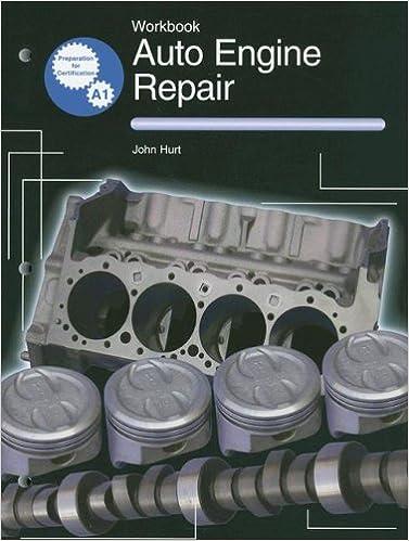 Auto Engine Repair Workbook