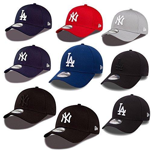 New Era 39thirty Gorra Nueva York Yankees Los Angeles Dodgers en Bundle con UD CALAVERA PAÑUELO en Muchos Colores: Amazon.es: Ropa y accesorios