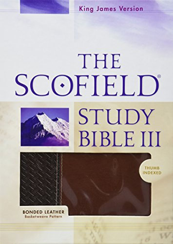 Iii Leather (The Scofield® Study Bible III, KJV)
