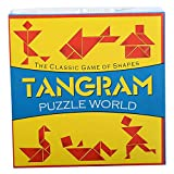 Virgo Toys Tangram Puzzle (Yellow and Blue)