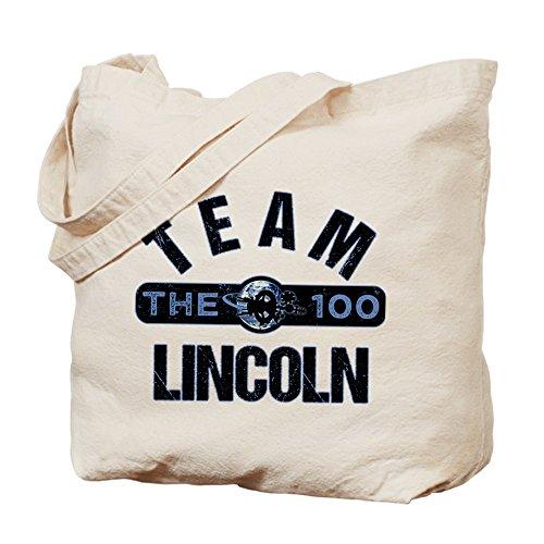 CafePress–el equipo de 100Lincoln–Gamuza de bolsa de lona bolsa, bolsa de la compra