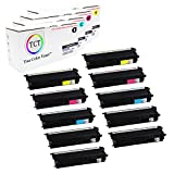 True Color Toner TN436 TN-436 High Yield 10-Pack Bundle Compatible Toner Cartridge Replacement for Brother HL-L8260CDW L8360CDW MFC-L8610CDW L8900CDW L9750CDW Printers (Black, Cyan, Magenta, Yellow)