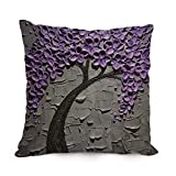 Slimmingpiggy Throw Pillow Covers Of Tree,for Car,lounge,bf,home Office,dance Room,relatives 18 X 18 Inches / 45 By 45 Cm(2 Sides)