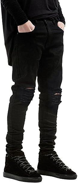 Amazon.com: Qazel Vorrlon - Pantalones vaqueros para hombre ...