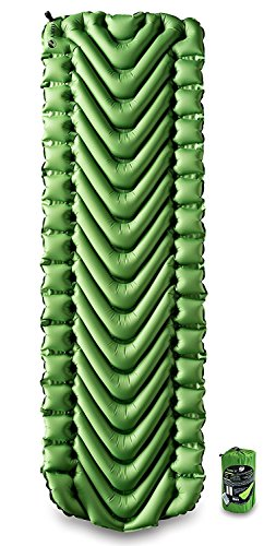 Travel Pad - Klymit Static V Lightweight Sleeping Pad, Green/Char Black