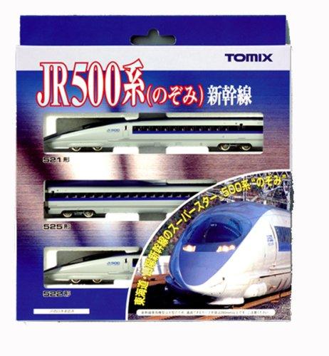 [해외] TOMIX N게이지 500 계신칸센 희망 기본 세트 3냥 92306 철도 모형 전철
