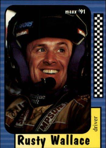 1991 Maxx #2 Rusty Wallace - Rusty Wallace Card