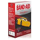 Band-Aid Brand Adhesive Bandages featuring Disney/Pixar Cars 3™, Assorted Sizes, 20 Count