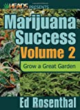 Marijuana Success, Ed Rosenthal, 0932551734