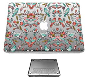 c0270 - Birds (Clear Background) Design Macbook pro 13.3'' (2010-2015) Fashion Trend CASE Full COVER Front And Back Full Protective Cover Case