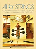 All for Strings : Conductor Score, Anderson, Gerald and Frost, Robert S., 0849732247