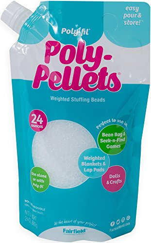 Fairfield PP246 24oz FOB: MI Poly-Pellets Stuffing Beads (Best Hgh For Sale)