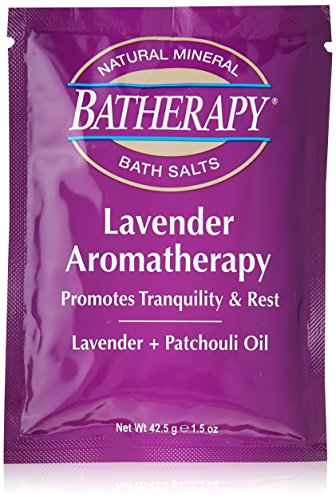 (Queen Helene Batherapy Mineral Bath Salts, Lavender, 1.5 Ounce (Pack of 12) [Packaging May Vary])