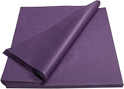 20 Pc 20 x 30 LILAC PURPLE Tissue Paper Gift Wrapping Packing Fill Cushioning