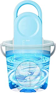 JFFFFWI Portable Mini Clothes Washer Timing Electric Washing Machine Compact Laundry That Goes Anywhere Ideal for Cleaning Clothes on The Go