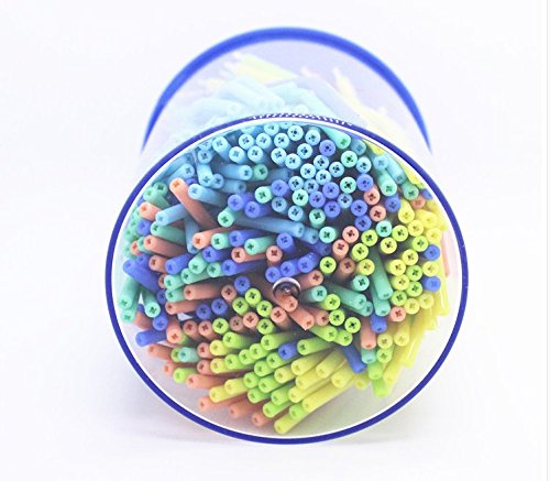 250 Pcs of Colorful and Disposable Nozzles/Tips/Tube for 3-way Air Water Spray Syringe (250)