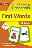 #2: First Words Flashcards: 40 Cards (Collins Easy Learning Preschool)