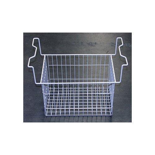 True 930993 20 15/16'' x 11 1/8'' x 16 1/4'' White Wire Basket by True Refrigeration