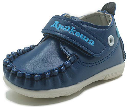 Pictures of Apakowa Baby Boys Girls Rubber Sole Sneaker HQ36 1
