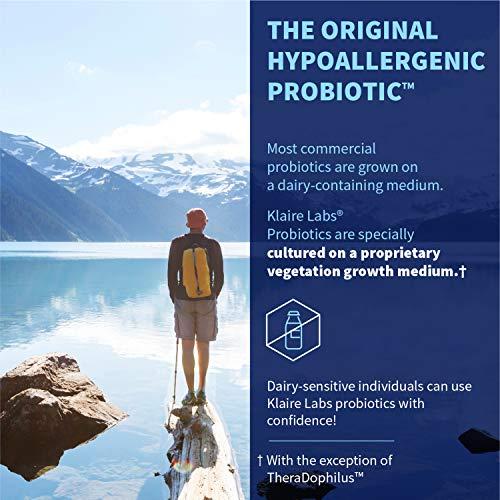 Klaire Labs Ther-Biotic Children's Chewable - 25 Billion CFU Multi Probiotic, 60 Tablets