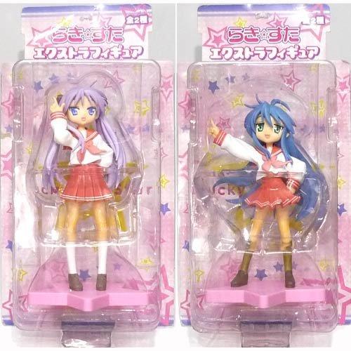 [Lucky Star] EX Figure Kagami/Konata 2-figure Set (Ex Figure Star)