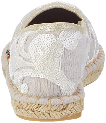 Preu 024 Bianco Basse en Fritzi White Espadrilles Espadrillas 01 Donna aus YvT5fWqgn8