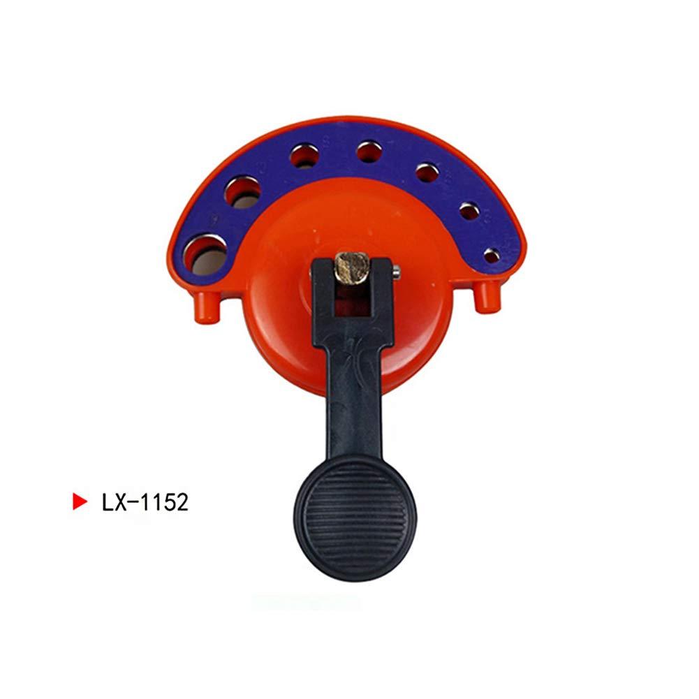 Cutogain 4– 12 mm Verre Ouverture Locator Plastique ré glable pour carrelage Scie-Cloche Guide de perç age Fixer Ouvertures Ventouse, 1152, 81mmà -98mmà -130mm 81mmÃ-98mmÃ-130mm