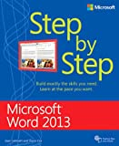Microsoft  Word 2013 Step by Step, Joan Lambert and Joyce Cox, 0735669120