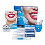 Furein Smile Advanced Teeth Whitening Gel Kit with Remineralization Gel +Activated Natural Charcoal Teeth Whitening Powder 35% Carbamide Peroxide Professional Whitening System for Home Use