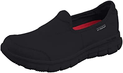 escribir una carta salami Ocurrir  Amazon.com | Skechers Women's Safety Shoes Work | Walking