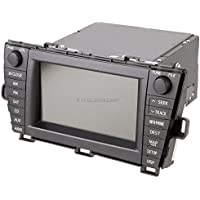 OEM Navigation Unit For Toyota Prius 2010 2011 w/JBL XM Face Code E7022 - BuyAutoParts 18-60190R Remanufactured