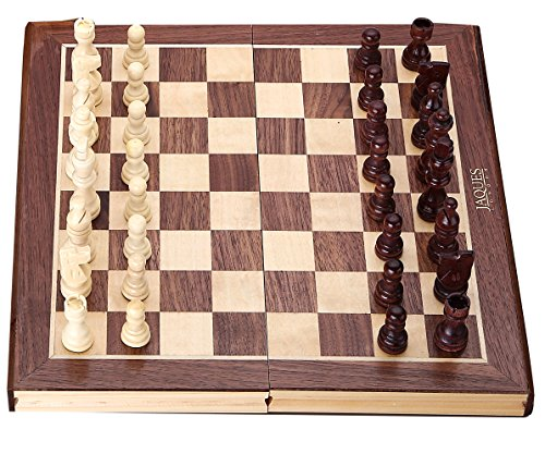 Jaques Chess Sets - Complete Hand Carved Genuine Jaques Chess Set with...