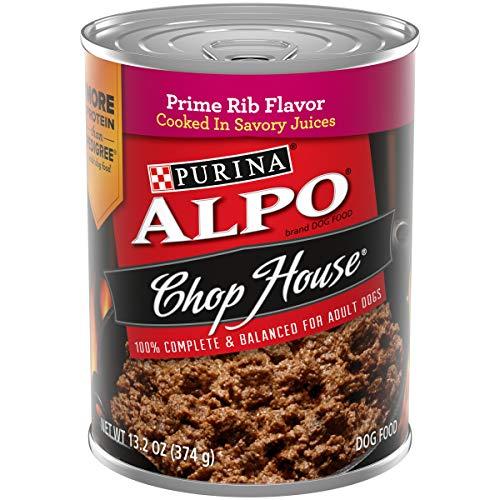 Purina ALPO Wet Dog Food, Chop House Prime Rib Flavor - (12) 13.2 oz. Cans
