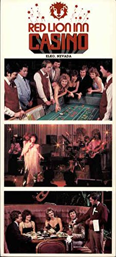 Red Lion Inn & Casino Elko, Nevada Original Vintage Postcard