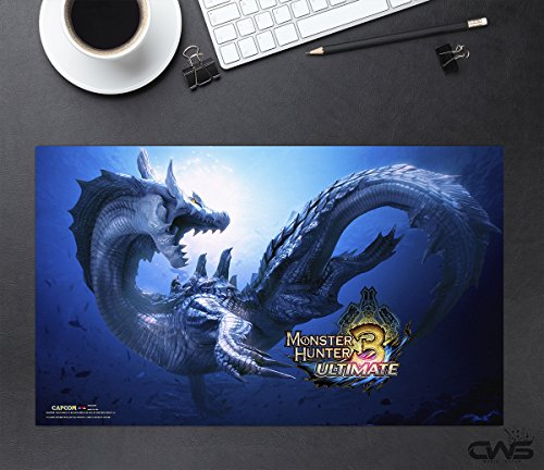 CWS Media Group Officially Licensed Monster Hunter Mousepad Playmat (24
