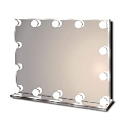 Waneway Hollywood Lighted Vanity Makeup Mirror