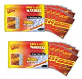 Heat Factory Hand and Body Heat Warmers, Large, 10 Pack