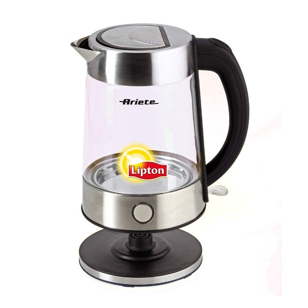 Amazon.com: Ariete Lipton 2872 moderno té (Cristal de ...