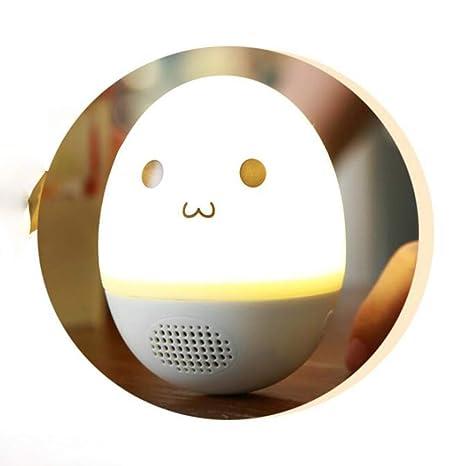 HHL Tumbler Atmosphere Light Bluetooth Stereo, Pequeño Altavoz Casero Lindo