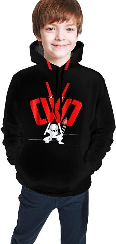 Woiiser Crewneck Zorgo/_CWC Sweatshirts for Girls Boys Soft Kids Hoodies Hoody Hooded Sweate Tops with Pockets