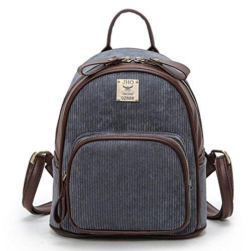(JVP1016-R) material mochila vino tinto japonés 3way mochila bandolera popular ligero bolso de recuperación de la escuela de estilo casual escuela estilo Gris