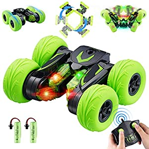 OYE HOYE Remote Control Car, RC Car 360 Degree Flips 4WD Racing Car Double Sided Rotating Offroad RC Car Wireless 2.4Ghz…