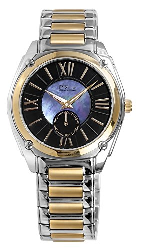 Daniel Steiger Ethos Men's Watch - Mother Of Pearl Dial - Two Tone 18k Gold Plated - Water Resistant - Magnificent Presentation case