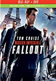 Paramount Home Video Mission: Impossible - Fallout (Blu-ray + DVD + Digital Copy)