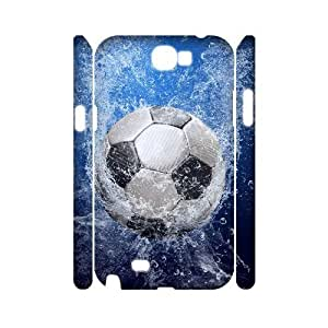 case Of Football Customized Hard Case For Samsung Galaxy Note 2 N7100